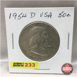US Fifty Cent 1954D