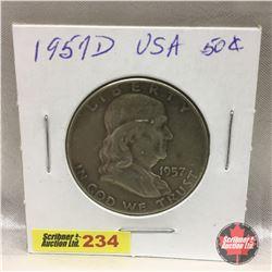 US Fifty Cent 1957D