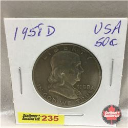US Fifty Cent 1958D