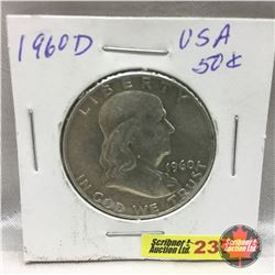 US Fifty Cent 1960D