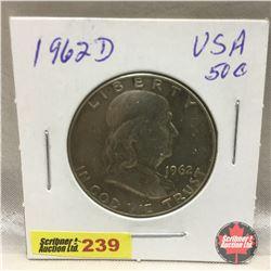 US Fifty Cent 1962D