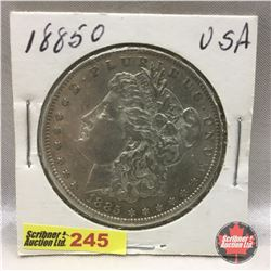 US Morgan Dollar 1885O