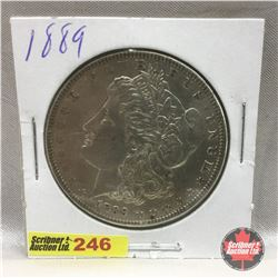 US Morgan Dollar 1889