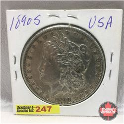 US Morgan Dollar 1890S