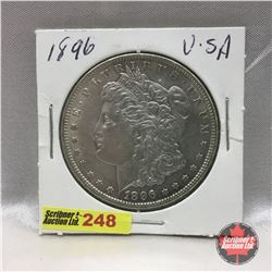 US Morgan Dollar 1896