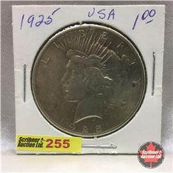 US Peace Dollar 1925