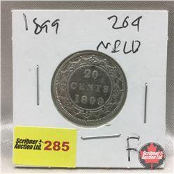 NFLD Twenty Cent 1899