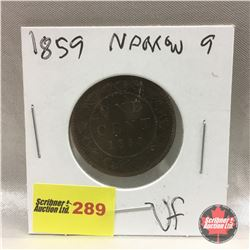 Canada Large Cent 1859 N9
