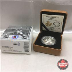 RCM 2015 NHL Eddie Giacomin $10 Fine Silver Coin