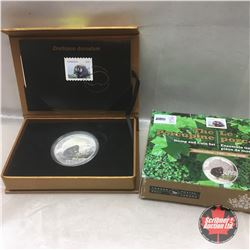 RCM 2015 The Porcupine Stamp and $20 Dollar Coin Set Limited Edition 4000