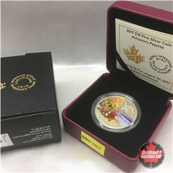 RCM 2017 Autumn's Palette $10 Fine Silver Coin