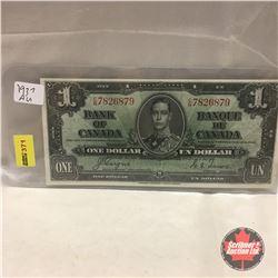 Canada $1 Bill 1937 #CN7826879
