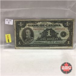 Bank of Canada $1 Bill 1935 #B4822853