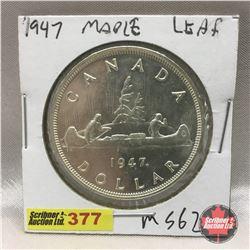 Canada Silver Dollar 1947 ML