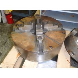 "BISON 16"" 4-JAW SELF CENTERING MANUAL CHUCK"
