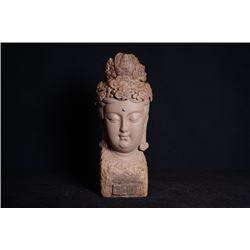 A Guan Yin statue.