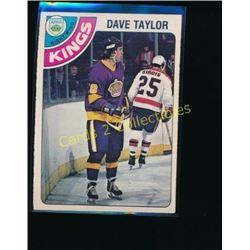 1978-79 O-Pee-Chee #353 Dave Taylor RC