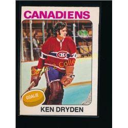 1975-76 O-Pee-Chee #35 Ken Dryden
