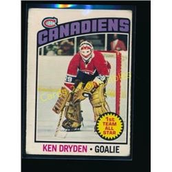 1976-77 O-Pee-Chee #200 Ken Dryden