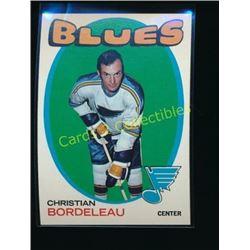 1971-72 Topps #51 Chris Bordeleau RC
