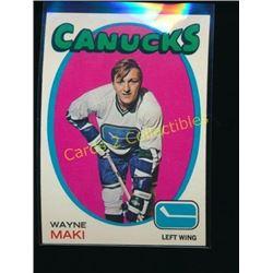 1971-72 Topps #58 Wayne Maki