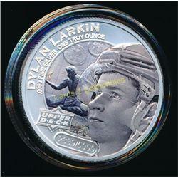 2017 UD Grandeur 1oz Silver Coin Dylan Larkin
