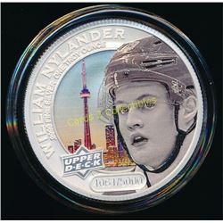 2017 UD Grandeur 1oz Silver Coin Sean Monahan