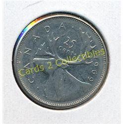 1969 Canadian Quarter