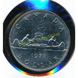 1978 Canadian $1 Coin