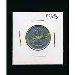 1968 Canadian Silver Quarter