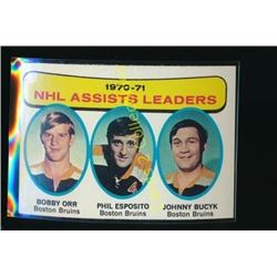 1971-72 Topps #2 Assists Leaders/Bobby Orr
