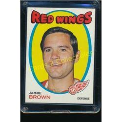 1971-72 Topps #14 Arnie Brown