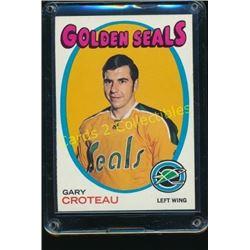 1971-72 Topps #17 Gary Croteau