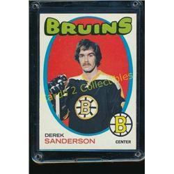 1971-72 Topps #65 Derek Sanderson