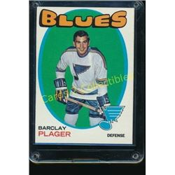 1971-72 Topps #66 Barclay Plager
