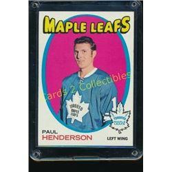 1971-72 Topps #67 Paul Henderson