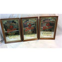 Vintage Stroh's Tavern Mirrors