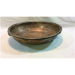 Large Copper Bowl 24x20x5