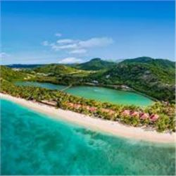 An Exclusive 135 -acre Caribbean Island Hideaway in The Grenadines For 7 Nights For 4 People