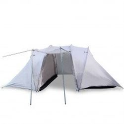 Camping Tent with 2 Rooms in the Color Tan With Free Shipping