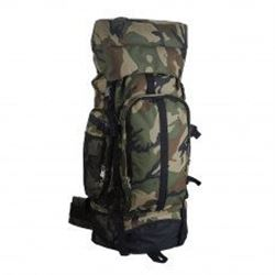 """Camouflage 30 """" Hiking/ Camping Water Resistant Mountaineer Backpack With Free Shipping"""