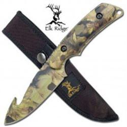 Camouflage Skinning Knife