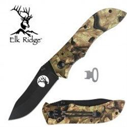 Pink Camouflage Knife by Elk Ridge With Free Shipping