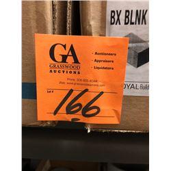 1 Case PVC Gang Boxes, PLUS-PVC-FD Blank Singe Gang Boxes (app 48)