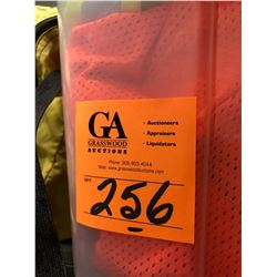 2 Spill Kits, Box of Disposable Coveralls, 3 - 1/2 Face masks Plus Container of Safety Vests & Safet