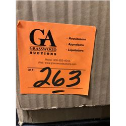 "14 Lock Boxes Plus a Box of Lock Out Padlock & keys, New in Box 12"" Ventilation Tubing"