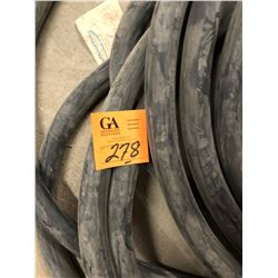 """4 Spools of Cables - General Cable, 2 - Tech 90 Flame Check, Belden 1"""" 3C Tech Cable Plus 2 1/2"""" rol"""