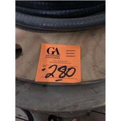 """4 Spools - 2 - 1/2"""" Cable, 1"""" Cable Plus 1 1/4"""" Cable"""