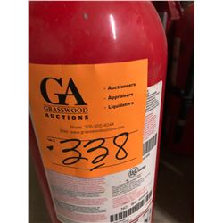 3 - 10 LB Class BA-10-B-C Fire Extinguisher Charged & 1 - ADV550 Fire Extinguisher 5 LB plus 1 - 3-A