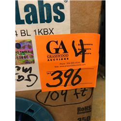 4 Boxes Core Data Labs CAT 5E-350 UTP CMR 2x24 Blue Cable (Partial & Full Boxes plus app 1000' loose